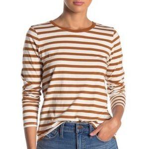 Madewell Northside Long Sleeve Vintage Top Stripe